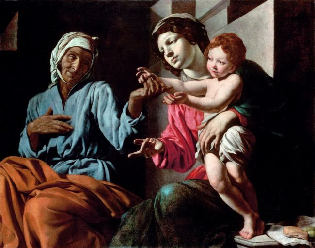 St Anne with Mary and Jesus