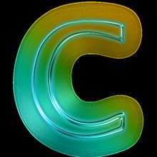 110679-glowing-green-neon-icon-alphanumeric-letter-cc