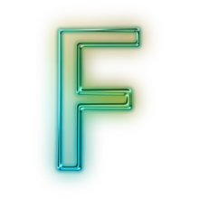 110685-glowing-green-neon-icon-alphanumeric-letter-ff