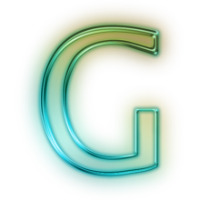 110687-glowing-green-neon-icon-alphanumeric-letter-gg