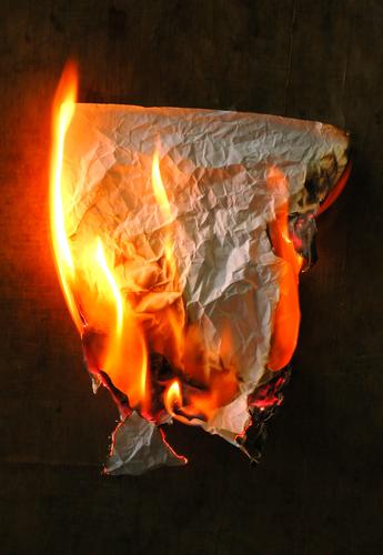 burning paper spells