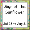 Sign of the Sunflower