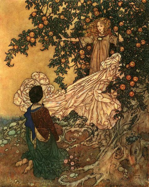 edmund_dulac_-_the_garden_of_paradise_-_fairy_of_the_garden_garment