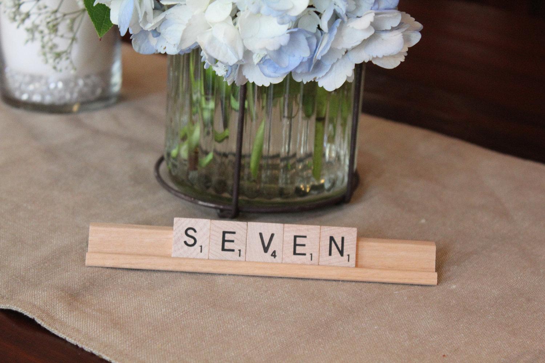 Unique Wedding Reception Table Numbers Handmade Weddings 22 Original
