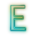 110683-glowing-green-neon-icon-alphanumeric-letter-ee
