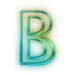 110677-glowing-green-neon-icon-alphanumeric-letter-bb