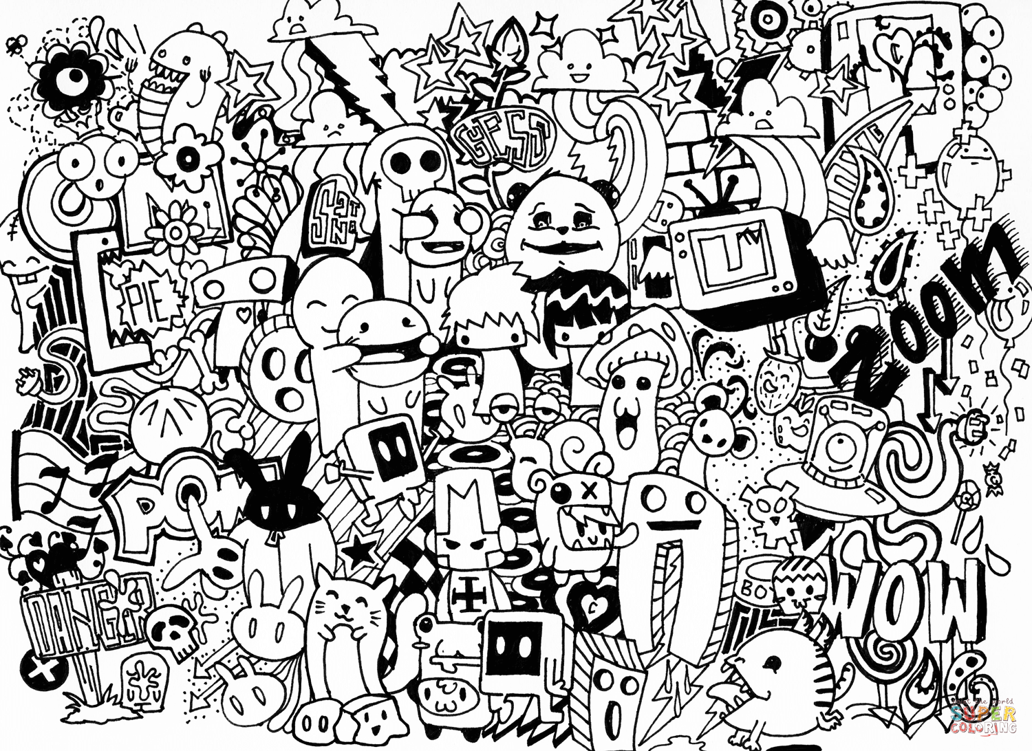Doodle Art Alley Quotes Coloring Pages Doodle Art Christmas Color Pages