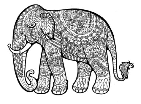 elephant-drawing-796998
