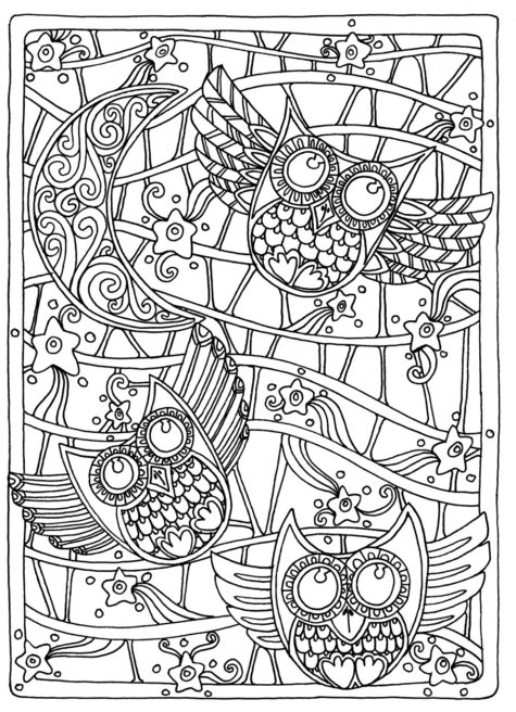 colouring-page-sleep