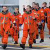 Astronauts Wear Orange