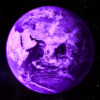 Purple Planet Earth
