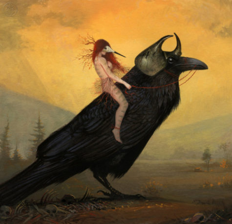 Image result for crow surreal