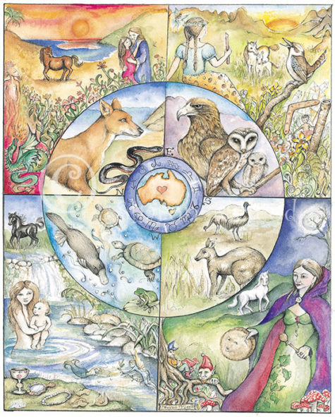 2017 Monthly Calendar | Pagan Calendar