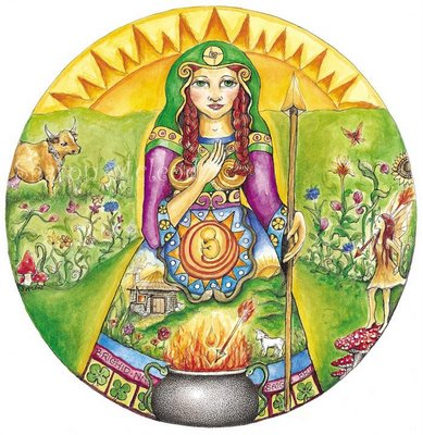 wheel IMBOLC Brighid_Sharon_McLeod