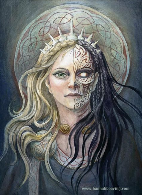hel goddess of the underworld the powers that be