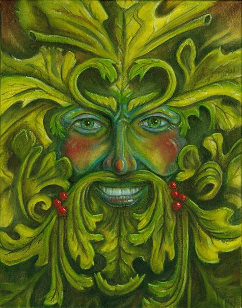 green-man-billy-leslie