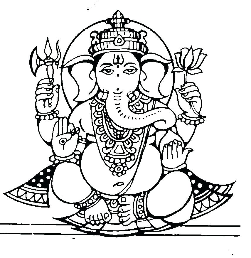 ganesh coloring pages ganesha coloring pages drawing bal ganesh colouring | The  ganesh coloring pages