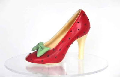 red-choclate-shoe