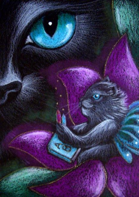 black-cat-fairy-kitten-back-to-school
