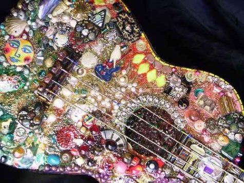 beaded-guitar