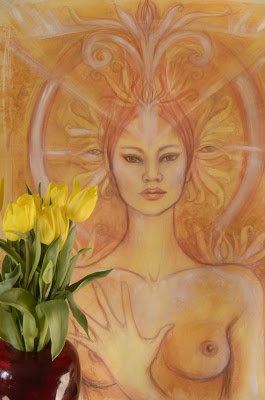 golden-lotus-dakini-goddess-painting-multi-media--UDU2Ny05MDgwMi4zMTkzNjU=