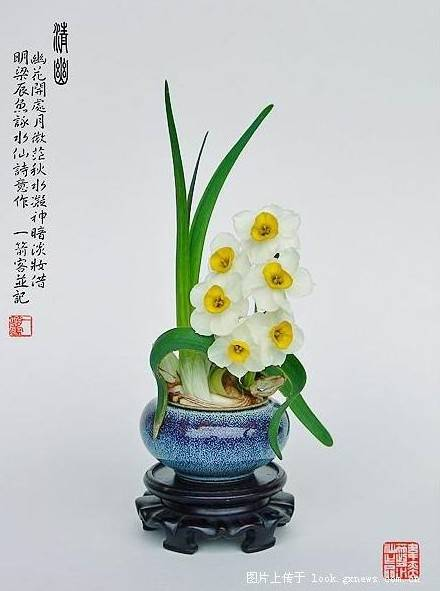 carved-chinese-sacred-lily